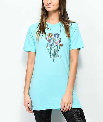 Gnarly Bouquet Light Blue T-Shirt