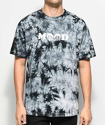 Gnarly Mood Black Tie Dye T-Shirt