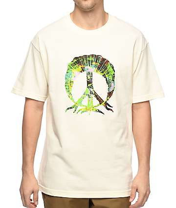 Gnarly Radial Tree Off-White T-Shirt