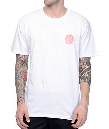 Gnarly Smile Forest White T-Shirt