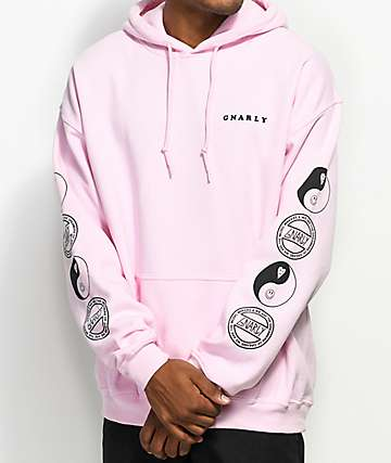 Gnarly Tubular Pink Hoodie