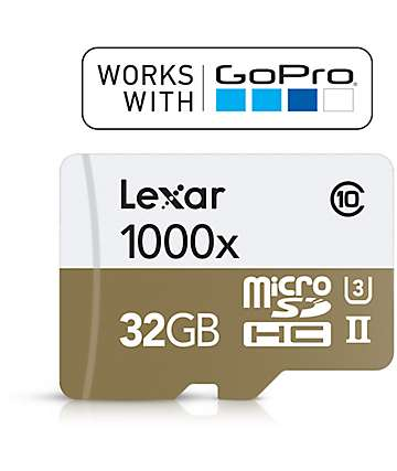 GoPro tarjeta SD de 32GB