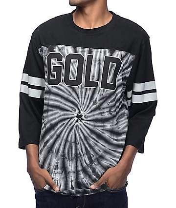 Gold 99 Black Raglan T-Shirt