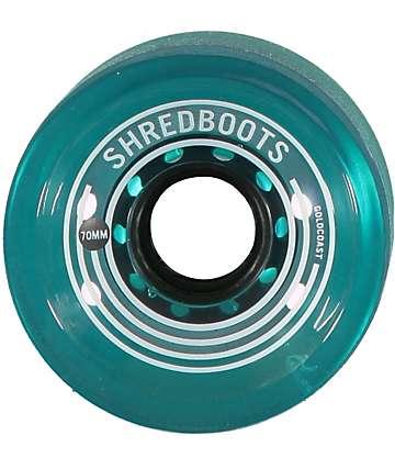 Gold Coast Shred Boots 70mm Longboard Wheels