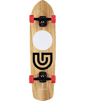 "Gold Coast Slap Stick Zebra 31"" Cruiser Complete Skateboard"