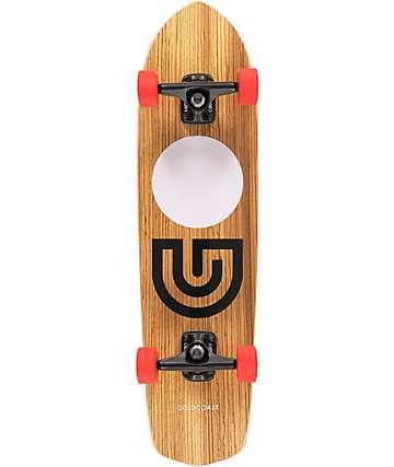 "Gold Coast Slapstick Zebra Wood 31"" Complete Cruiser Skateboard"