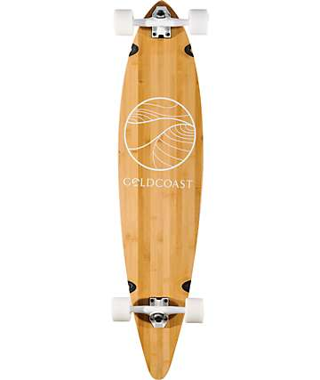 "Gold Coast The Classic Bamboo Floater 44"" longboard completo"