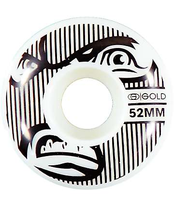 Gold Wheels Goons 52mm Skateboard Wheels