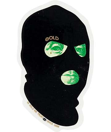 Gold pegatina Bad Money