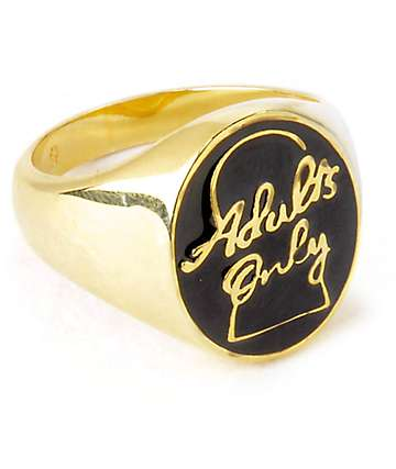 Good Worth Adults Only Ring