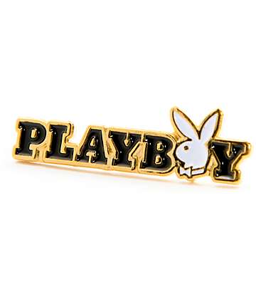 Good Worth x Playboy Bunny Text Pin