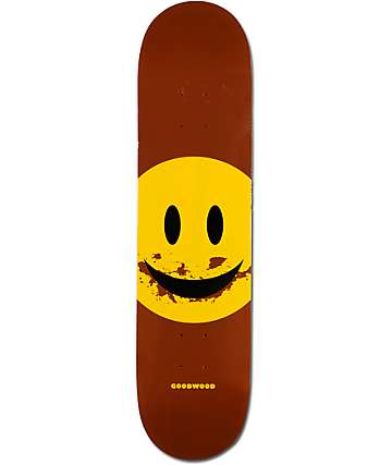 "Goodwood Dirt Eating 7.75"" Skateboard Deck"