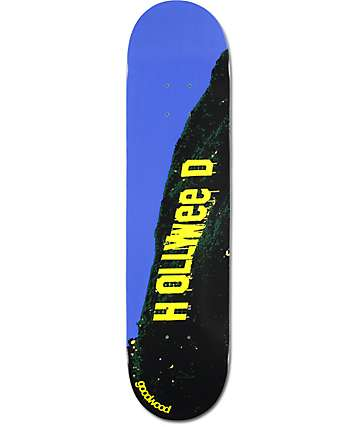 "Goodwood Hollyweed 7.75"" Skateboard Deck"