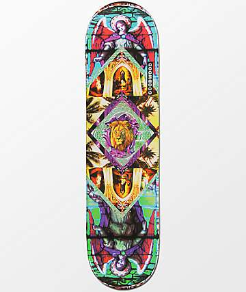 "Goodwood Justice 8.0""  Skateboard Deck"