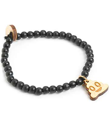 Goodwood NYC Poop Emoji Bracelet