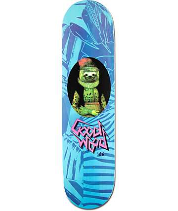 "Goodwood Sloth 8.0""  Skateboard Deck"