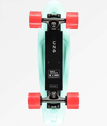 "Gravity Skateboards Electric 22"" Cruiser Complete Skateboard"