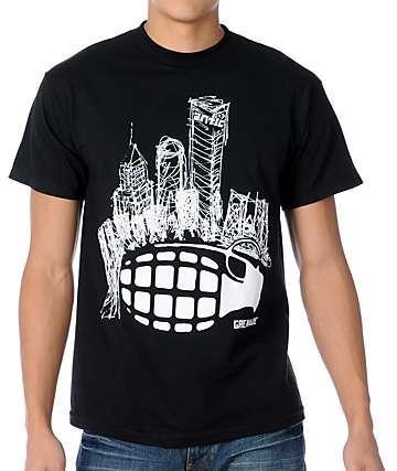 Grenade Antic Black T-Shirt