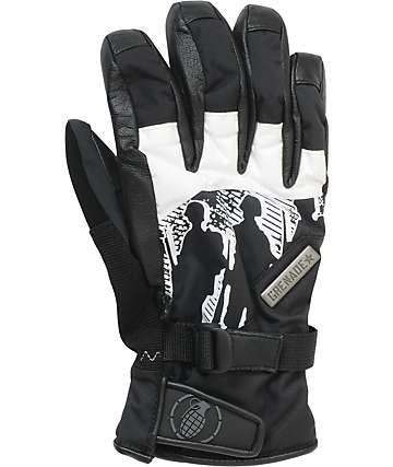 Grenade Apache Mens Black & White Gloves