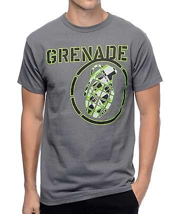 Grenade Asst Grey T-Shirt