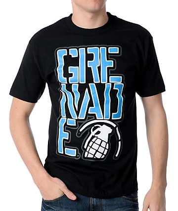 Grenade Big Crop Black T-Shirt