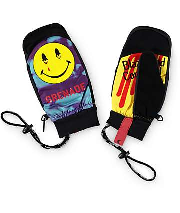 Grenade Blazed & Confused Cloud Snowboard Mittens