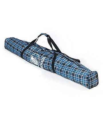 Grenade Blue Plaid 166cm Snowboard Bag