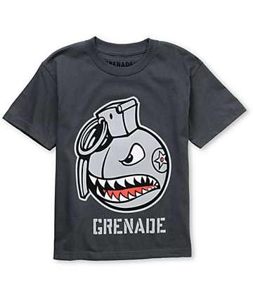 Grenade Boys Recruiter Grey T-Shirt