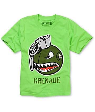 Grenade Boys Recruiter Lime T-Shirt