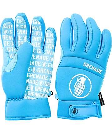 Grenade Brainwasher Blue Snowboard Glove