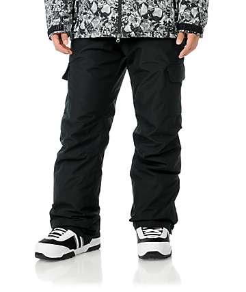 Grenade Cargo 10K Black Mens Snowboard Pants