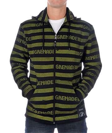 Grenade Castabio Black Fleece Hoodie