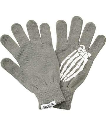 Grenade Crypt Grey Knit Gloves
