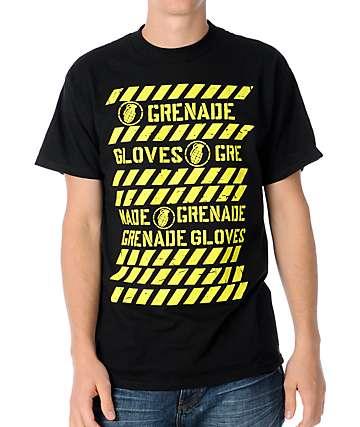 Grenade Danger Black T-Shirt