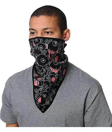 Grenade Eyeball Black Face Mask