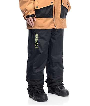 Grenade Grindhouse 10K pantalones negros de snowboard