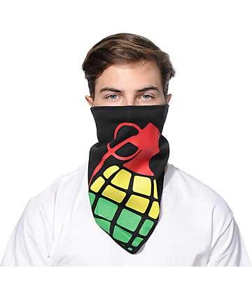 Grenade Halfdana Rasta Bomb Face Mask Bandana