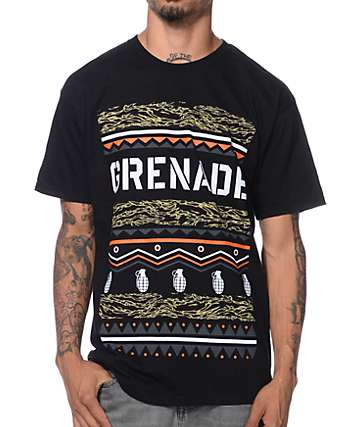 Grenade Haratin Oasis Black T-Shirt