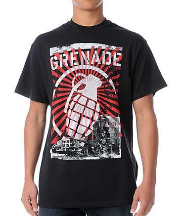 Grenade Horizon Black T-Shirt