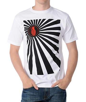 Grenade Kamikaze White T-Shirt
