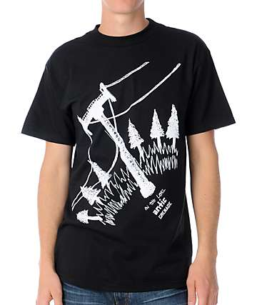 Grenade Lift Antic Black T-Shirt