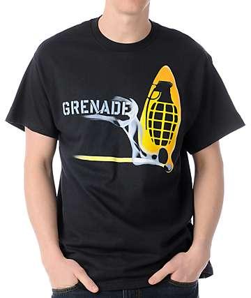 Grenade Match Bomb Black T-Shirt