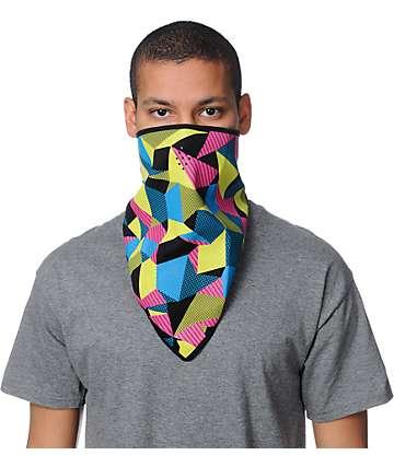 Grenade Moore Black & Neon Face Mask