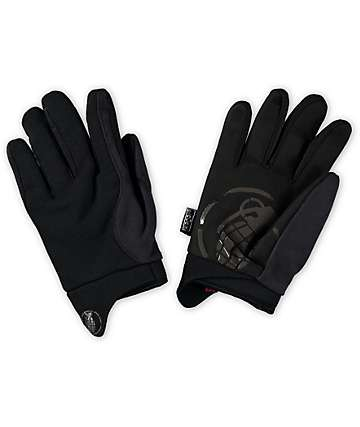 Grenade Murdered Out Pipe Snowboard Gloves