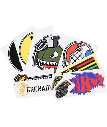 Grenade Official Sticker Pack