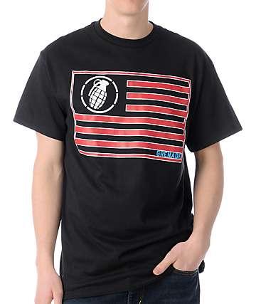 Grenade Patriot Black T-Shirt