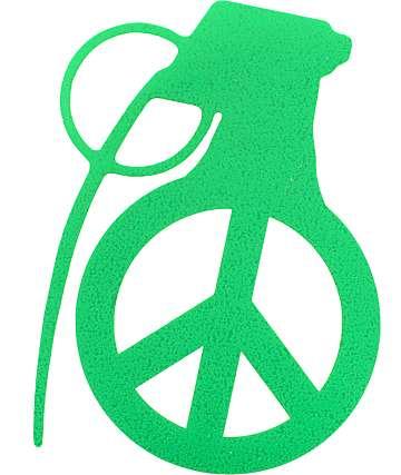 Grenade Peace Bomb 4 Sticker