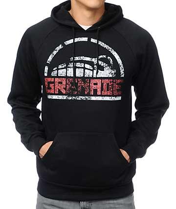 Grenade Side Stenz Black Pullover Hoodie