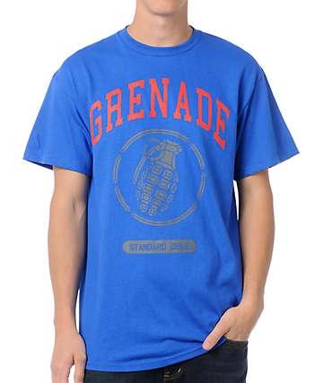 Grenade Stadium Logo Blue T-Shirt
