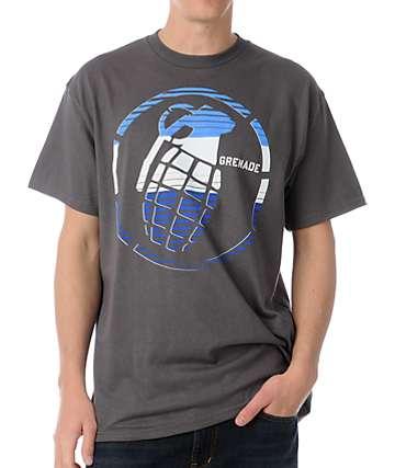 Grenade Stenz Grey T-Shirt